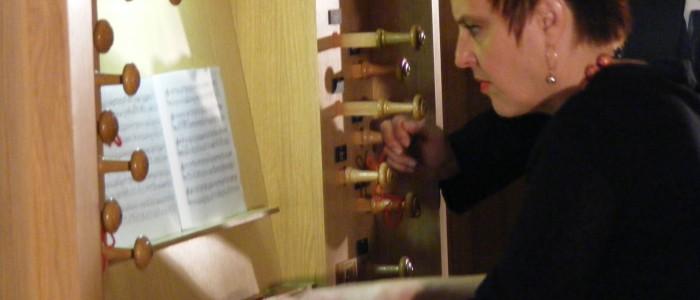 Concerto d'Organo – Maria Abrudan – 5 Novembre 2014 ore 18