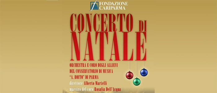 Concerto di Natale – 12 dicembre 2014 ore 18 – Teatro Regio