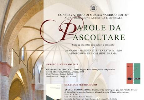 parole2015 I Concerti del Boito   La voce e il pianoforte: solismo e coralità   26 05 2015