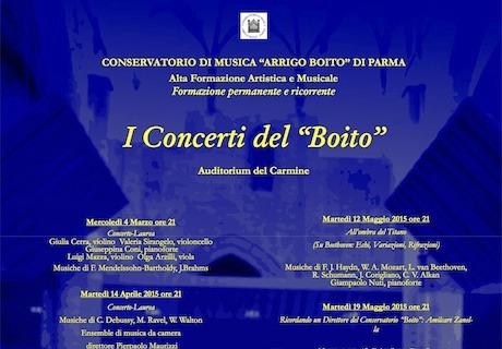 stag115 I Concerti del Boito   La voce e il pianoforte: solismo e coralità   26 05 2015