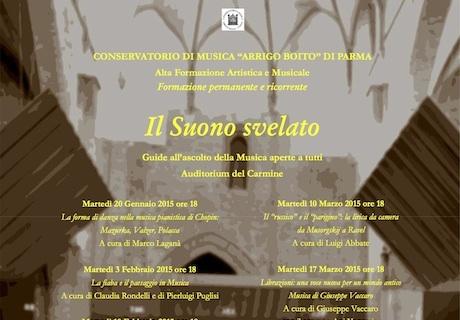 stag215 I Concerti del Boito   La voce e il pianoforte: solismo e coralità   26 05 2015