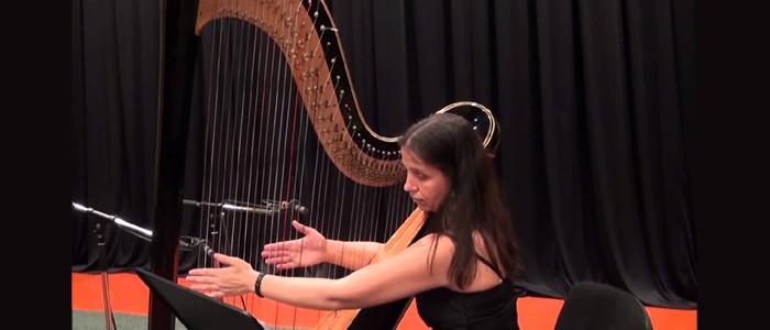 Masterclass di arpa con Jekaterina Suvorova – 03/04-03-2015