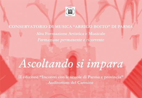Ascoltando si impara 3 I Concerti del Boito   La voce e il pianoforte: solismo e coralità   26 05 2015