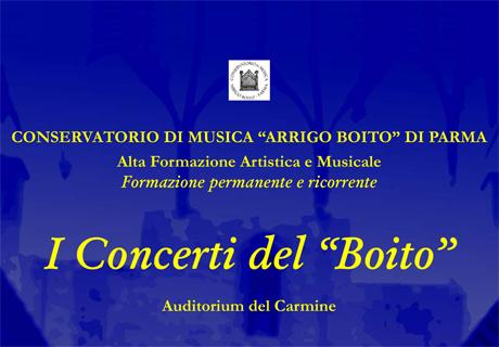 I concerti del Boito 3 I Concerti del Boito   La voce e il pianoforte: solismo e coralità   26 05 2015