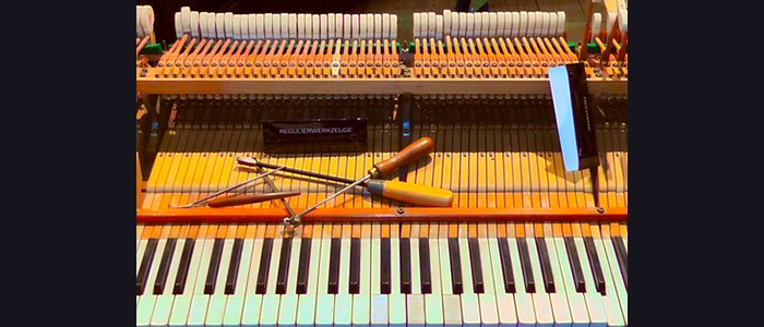 Laboratorio Tastiere e Prassi Storiche. Il pianoforte: conoscere la meccanica per ottimizzare l'esecuzione. A cura di Luciano Del Rio – 04-12-2018