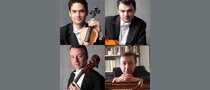(Italiano) Concerto di David Schultheiss (violino), Adrian Mustea (viola), Yves Savary (violoncello), Pierpaolo Maurizzi (pianoforte) – 01-12-2017 ore 20:30