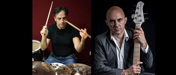 BATTERIA E BASSO NELLA MUSICA POP. Masterclass a cura di Maurizio Dei Lazzaretti e Lorenzo Poli – 14/15-09-2018