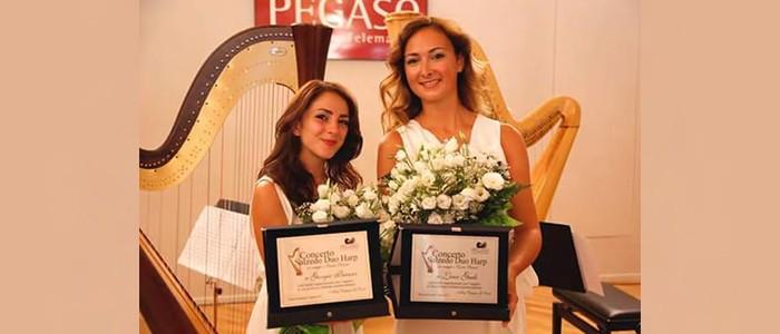 I Concerti del Boito: L'Ecletticità dell'Arpa e della Danza. Salzedo Duo Harps e Alice Scarrone, danza – SOSPESO