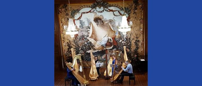 I Concerti del Boito: Leonard Harp Quartet. Emanuela Degli Esposti, Jeuan Jones, Laura Papeschi, Agatha Bocedi, arpe – 02-04-2019 ore 20:30