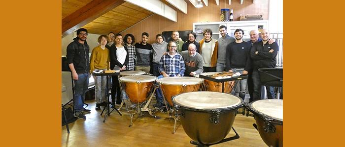 Concerto della Classe di Strumenti a Percussione di Danilo Grassi – 23-05-2019 ore 20:30