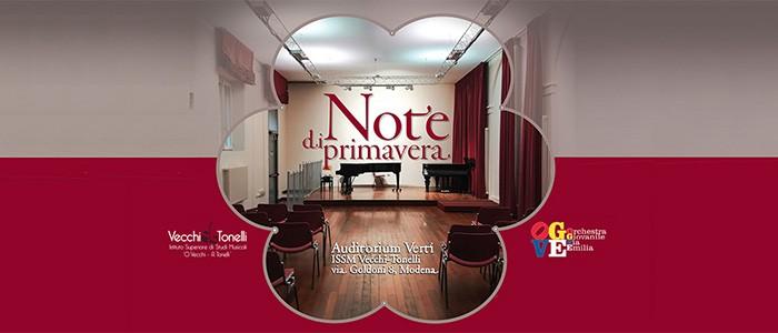 Note di primavera: Concerto degli Allievi del Conservatorio di Parma – 22-05-2019 ore 21:00