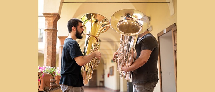 Anteprima Parma 2020: Tuba lib…ere. Concerto dell'ensemble di ottoni del Conservatorio – 22-06-2019 ore 18:00