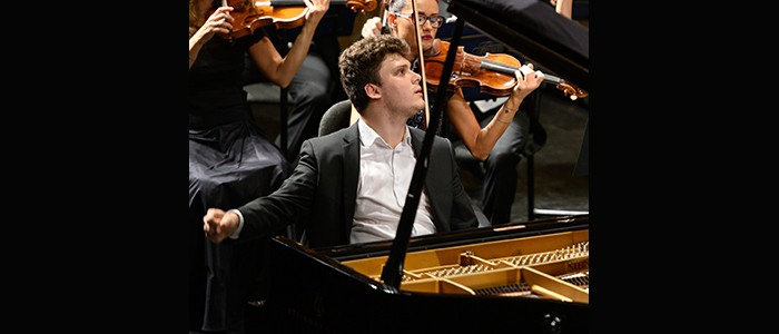"""(Italiano) Concerto di Nicola Pantani, vincitore del XI Concorso pianistico Internazionale """"F. Liszt""""- Premio Zanfi – 06-02-2020 ore 20:30"""