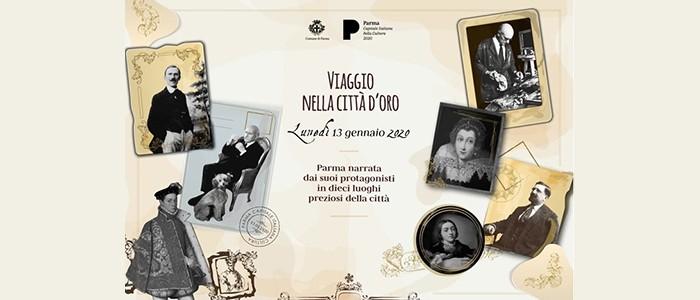 (Italiano) Inaugurazione Parma 2020: Viaggio nella città d'oro: tè, concerti e racconti – 13-01-2020