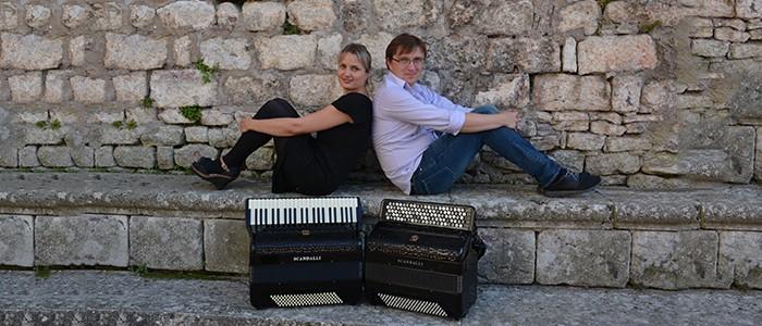 Concerto del Duo «Una sinistra»: Yulia Amerikova (fisarmonica a tastiera) e Alexander Selivanov (fisarmonica a bottoni) – SOSPESO