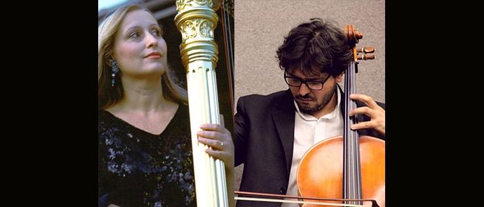 I Concerti del Boito, Ciclo Musica Eclettica. Cello & Harp: da Vivaldi ai contemporanei. Roberto Trainini, violoncello; Emanuela Degli Esposti, arpa – 13-09-2021 ore 20:30