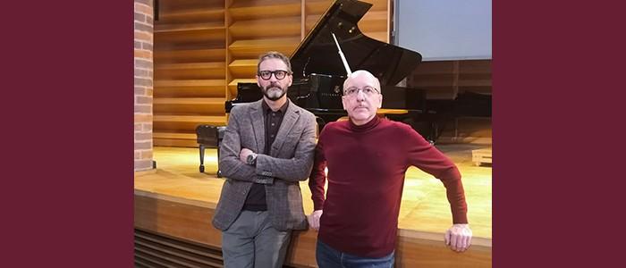 I Concerti del Boito – Ciclo Musica Eclettica: Colta, jazz, o minimalista? Alberto Tacchini – Pierluigi Puglisi, due pianoforti – 14-09-2021 ore 20:30