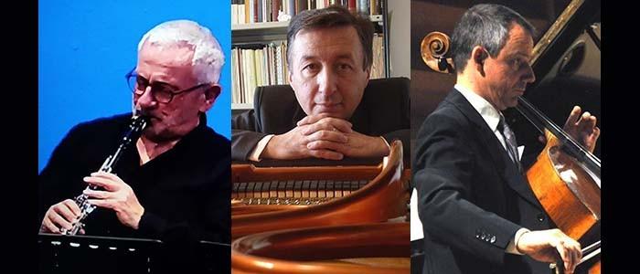 I Concerti del Boito: Yves Savary (violoncello), Massimo Ferraguti (clarinetto), Pierpaolo Maurizzi (pianoforte) – 15-10-2021 ore 20:30